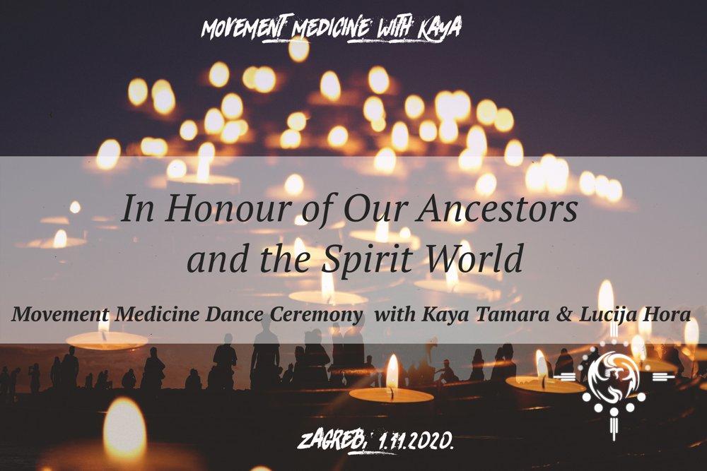 Movement Medicine plesna ceremonija: U čast našim precima i duhovnom svijetu