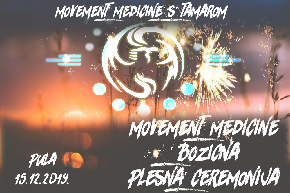 PULA, Movement Medicine božićna plesna ceremonija