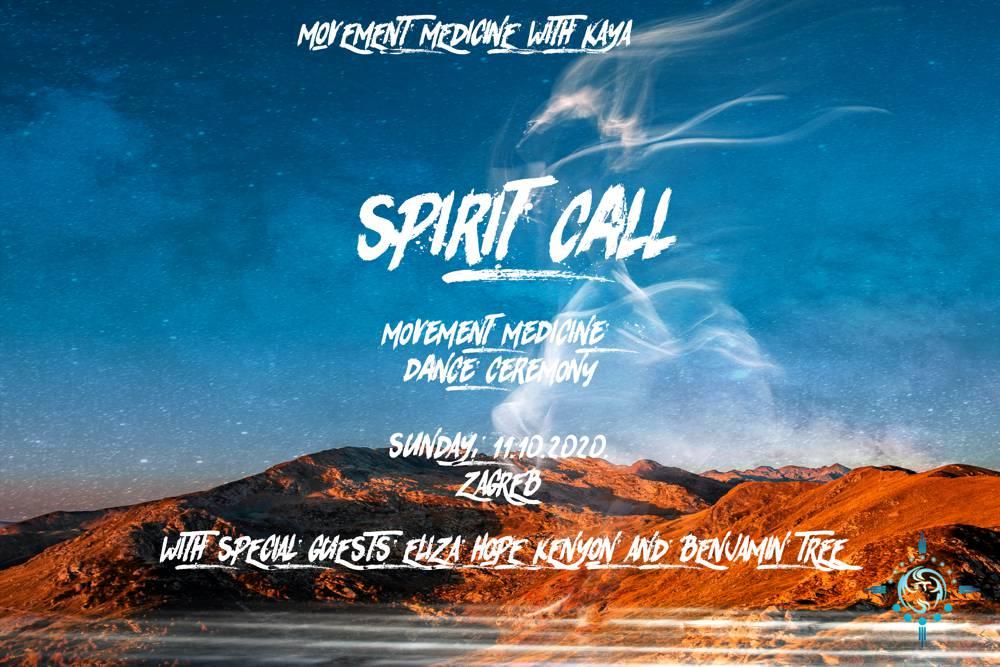 Movement Medicine plesna ceremonija: SPIRIT CALL / ZOV DUHA
