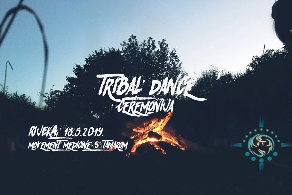 RIJEKA: MOVEMENT MEDICINE PLESNA CEREMONIJA – TRIBAL DANCE