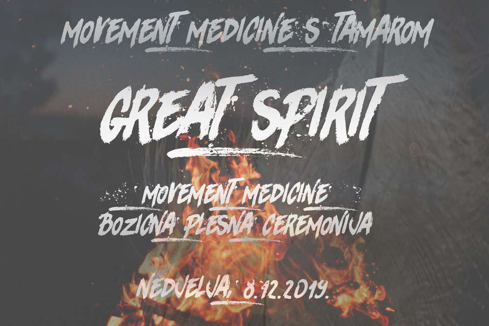 Movement Medicine božićna plesna ceremonija